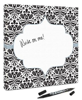 Picture of Damask- Black/White/Blue