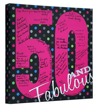 Picture of Fabulous 50 Birthday - Buy any 2 and get FREE SHIPPING